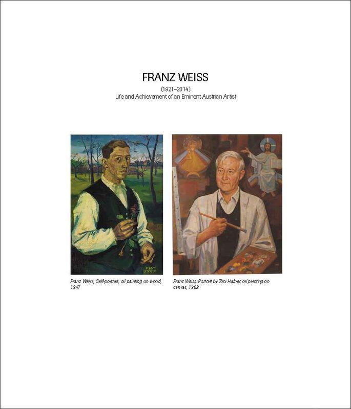Bucheinband von 'FRANZ WEISS - (1921–2014) Life and Achievement of an Eminent Austrian Artist'