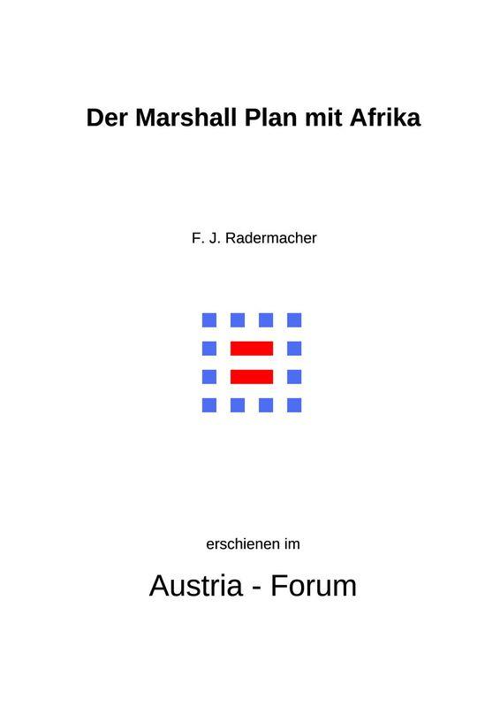 Cover of the book 'Der Marshall Plan mit Afrika - Ein Ansatz zur Umsetzung der Agenda 2030?!'