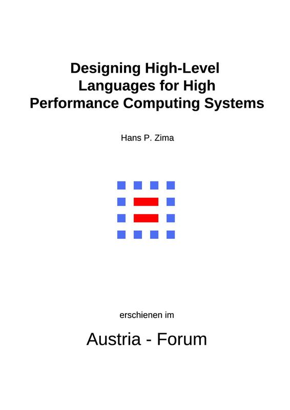 Bucheinband von 'My IT History - Designing High-Level Languages for High Performance Computing Systems'