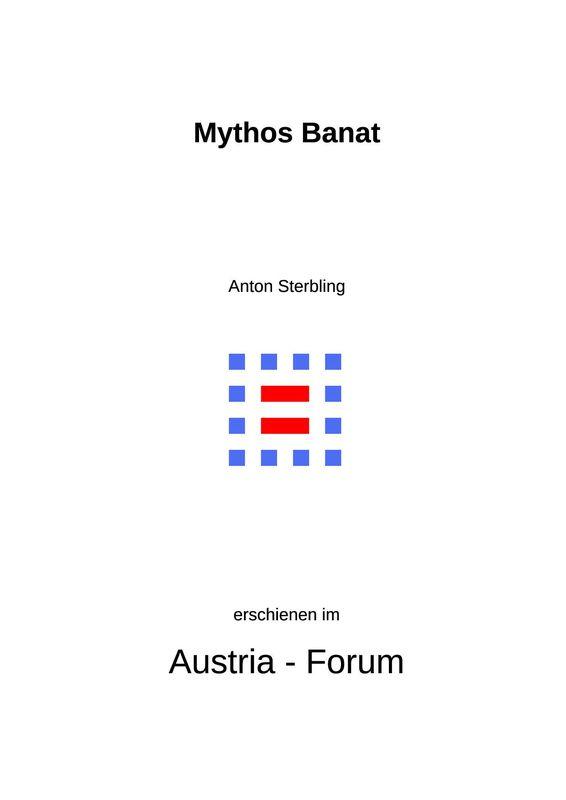 Bucheinband von Mythos Banat