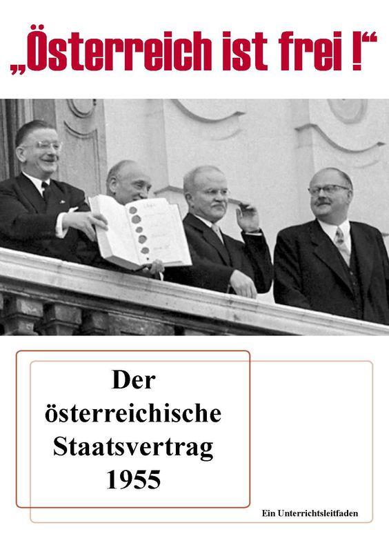 """Bucheinband von '""""Österreich ist frei!"""" - Der österreichische Staatsvertrag 1955'"""