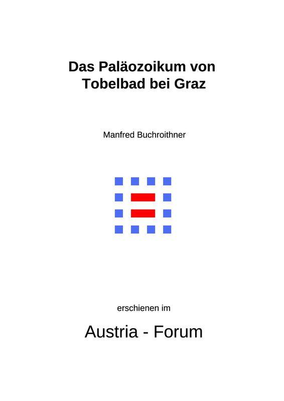 Bucheinband von 'Das Paläozoikum von Tobelbad bei Graz'