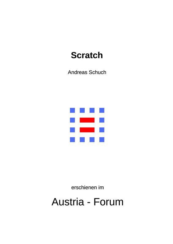 Bucheinband von 'Scratch'