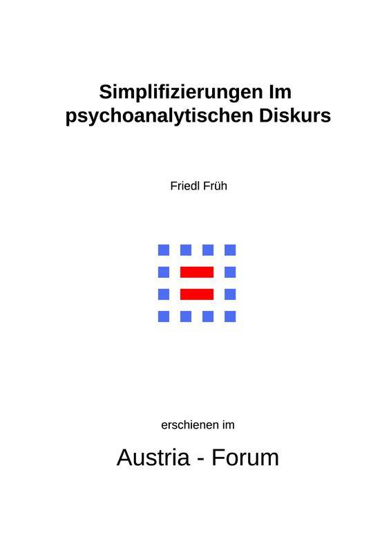 Bucheinband von 'Simplifizierungen Im psychoanalytischen Diskurs'