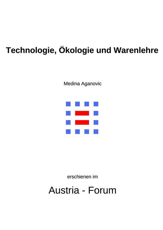 Bucheinband von 'Technologie, Ökologie und Warenlehre'