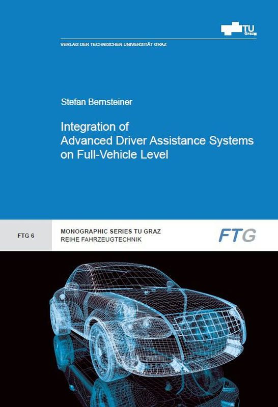 Bucheinband von 'Integration of Advanced Driver Assistance Systems on Full-Vehicle Level - Parametrization of an Adaptive Cruise Control System Based on Test Drives'