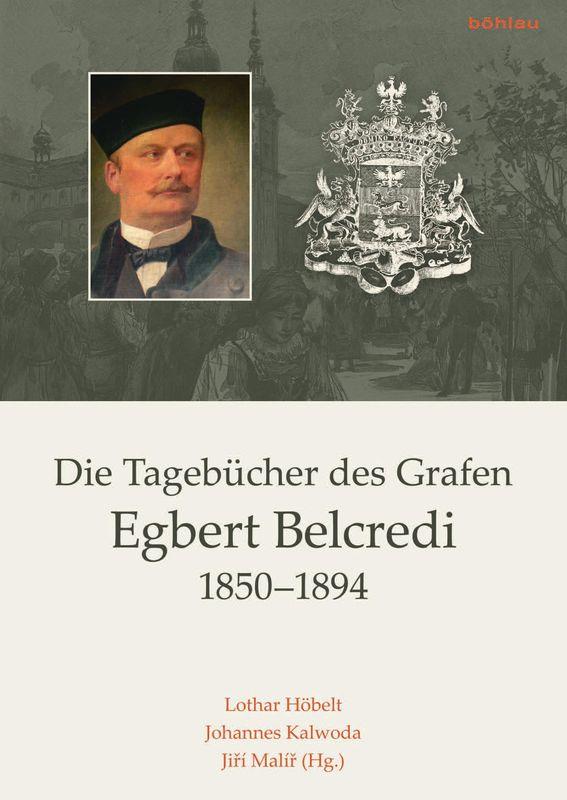 Bucheinband von 'Die Tagebücher des Grafen Egbert Belcredi 1850–1894'