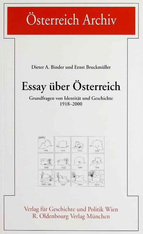 Bucheinband von 'Essay über Österreich - Grundfragen von Identität und Geschichte 1918-2000'