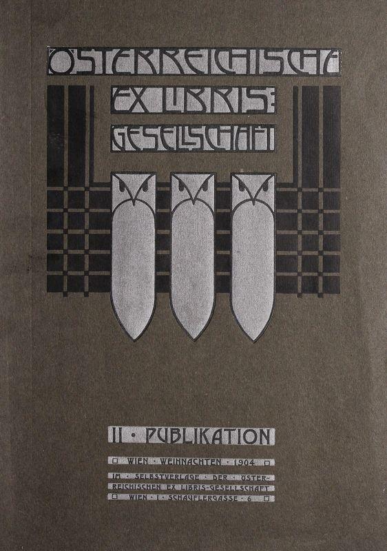 Cover of the book 'Österreichische Exlibris - Gesellschaft - II. Publikation, Volume II'