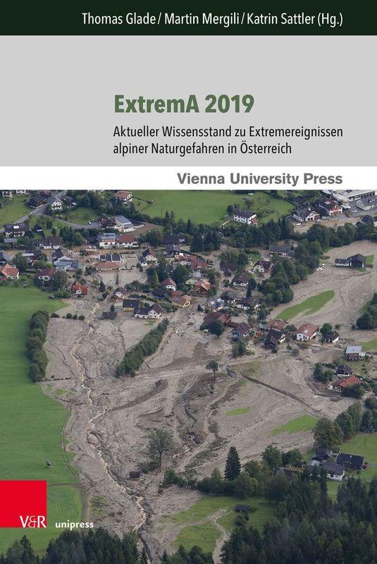 Bucheinband von 'ExtremA 2019 - Aktueller Wissensstand zu Extremereignissen alpiner Naturgefahren in Österreich'