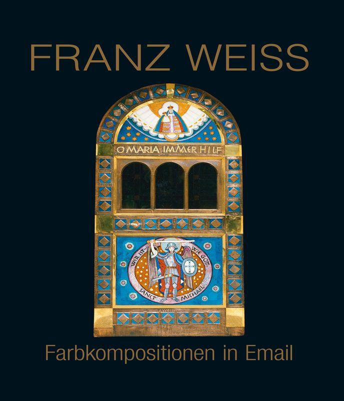 Bucheinband von FRANZ WEISS . Farbkompositionen in Email