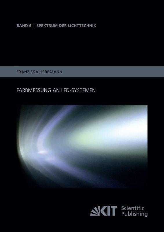 Bucheinband von 'Farbmessung an LED-Systemen'
