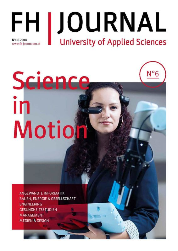 Bucheinband von 'FH JOURNAL - University of Applied Sciences, Band 6/2018'