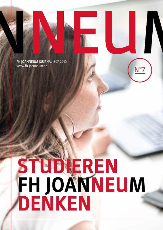 Bucheinband von 'FH JOURNAL - University of Applied Sciences, Band 7/2019'
