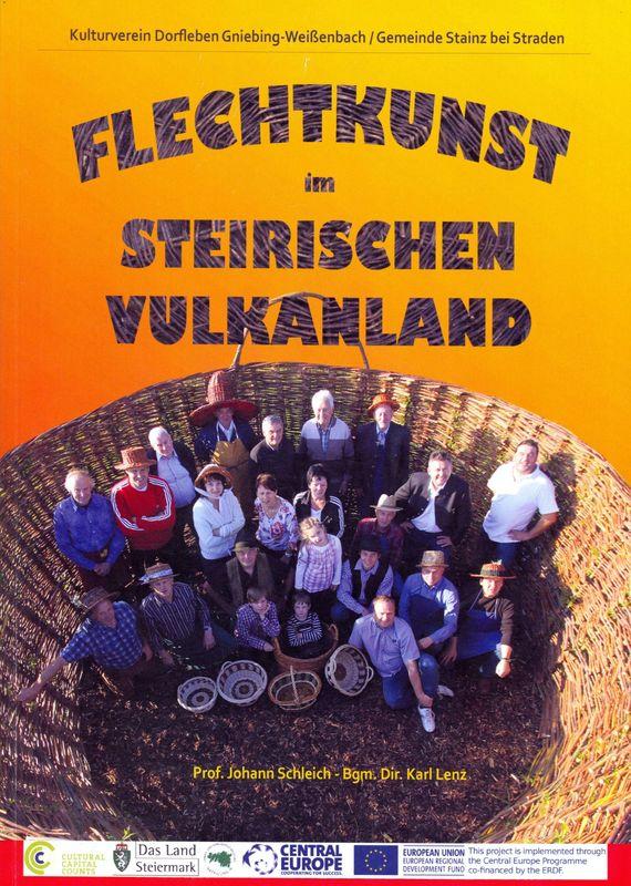 Cover of the book 'Flechtkunst im Steirischen Vulkanland - Sonderaustellung 2012'
