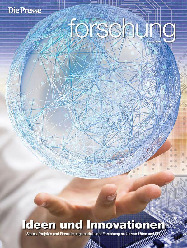 Bucheinband von 'forschung - Ideen und Innovationen'