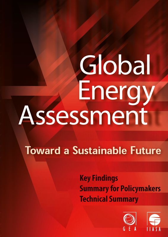 Cover of the book 'Global Energy Assessment - Toward a Sustainable Future'