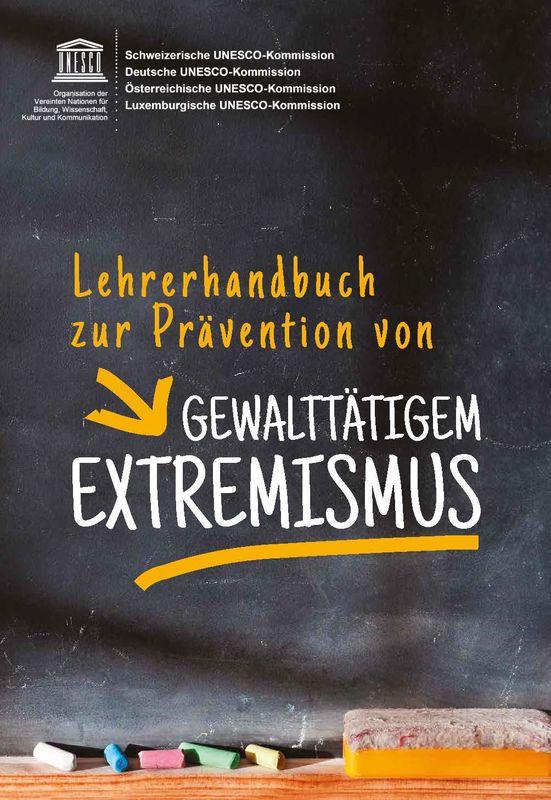 Bucheinband von 'Lehrerhandbuch zur Prävention von Gewalttätigem Extremismus'