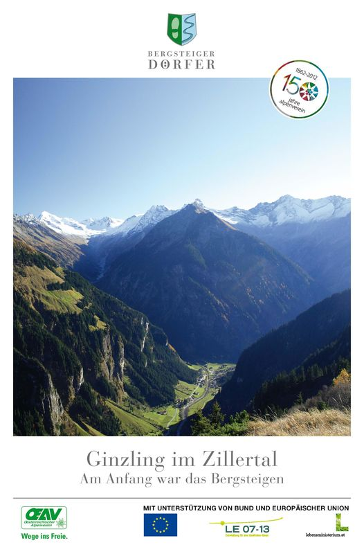 Bucheinband von 'Ginzling im Zillertal - Am Anfang war das Bergsteigen'