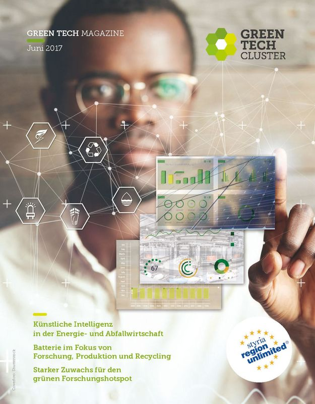 Cover of the book 'Green Tech Magazine, Volume 01/2017'