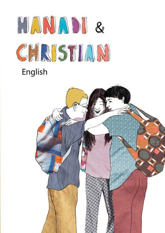Bucheinband von 'Hanadi & Christian - English'