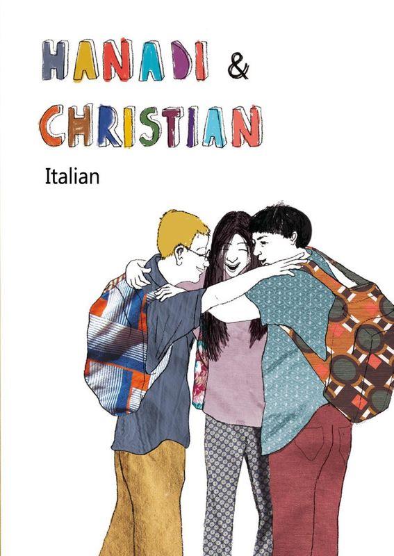 Bucheinband von 'Hanadi & Christian - Italian'