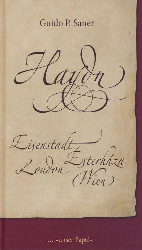 Cover of the book 'Haydn - Eisenstadt -  Esterháza - London - Wien'
