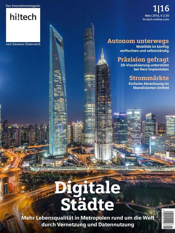 Bucheinband von 'hi!tech - Das Innovationsmagazin von Siemens Österreich, Band 1|16'
