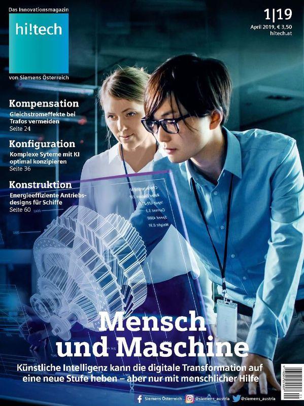 Bucheinband von 'hi!tech - Das Innovationsmagazin von Siemens Österreich, Band 1|19'