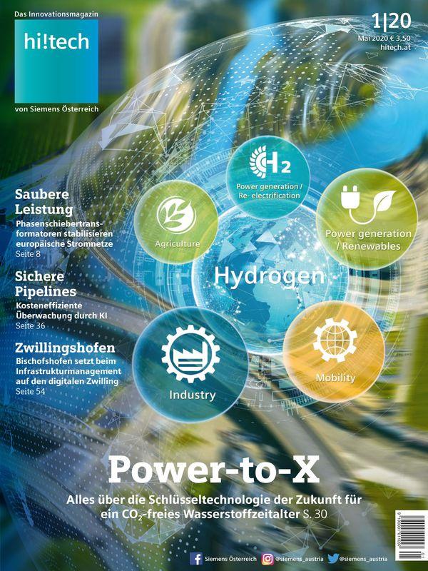 Bucheinband von 'hi!tech - Das Innovationsmagazin von Siemens Österreich, Band 1|20'