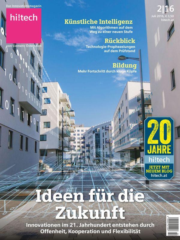 Cover of the book 'hi!tech - Das Innovationsmagazin von Siemens Österreich, Volume 2|16'