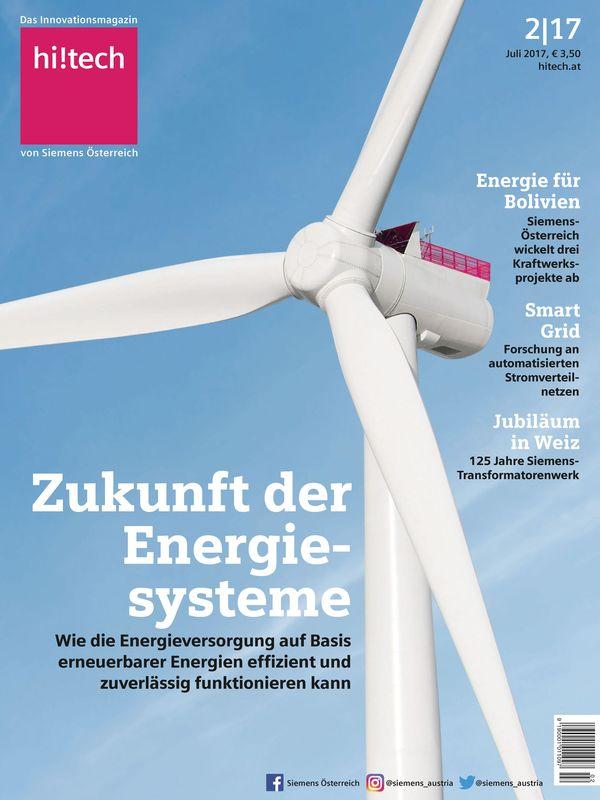 Bucheinband von 'hi!tech - Das Innovationsmagazin von Siemens Österreich, Band 2|17'