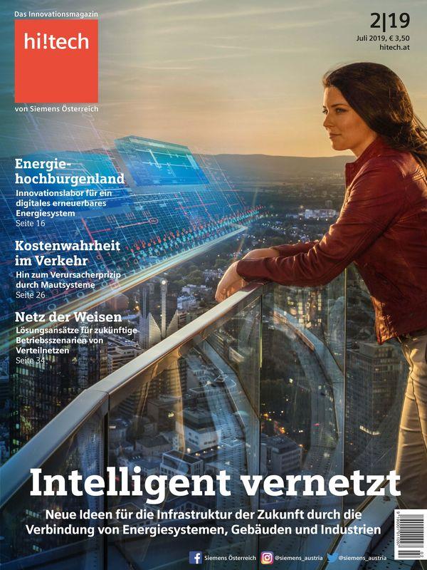 Bucheinband von 'hi!tech - Das Innovationsmagazin von Siemens Österreich, Band 2|19'