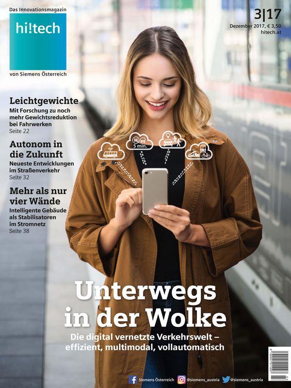 Cover of the book 'hi!tech - Das Innovationsmagazin von Siemens Österreich, Volume 3|17'