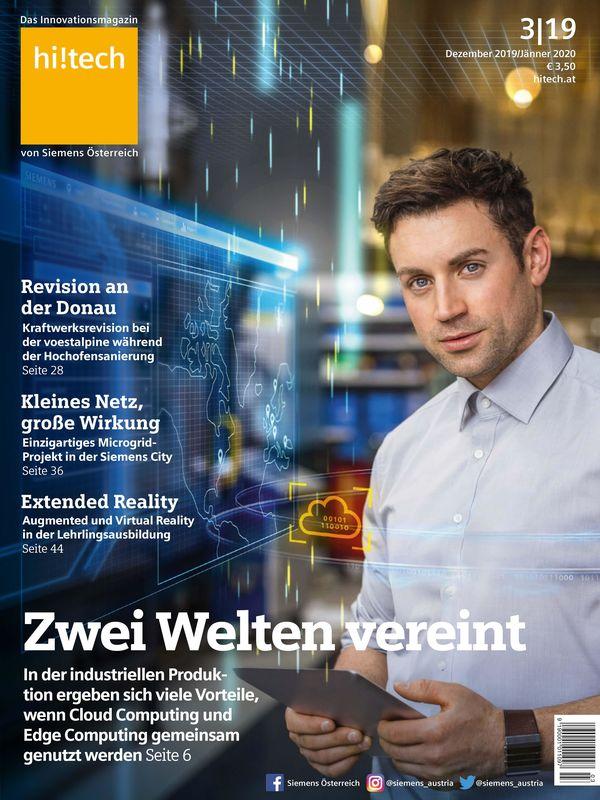 Cover of the book 'hi!tech - Das Innovationsmagazin von Siemens Österreich, Volume 3|19'