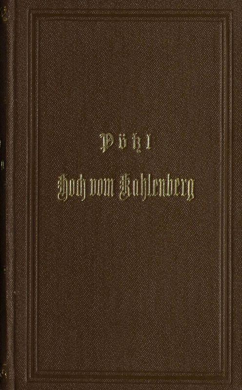 Bucheinband von 'Hoch vom Kahlenberg'