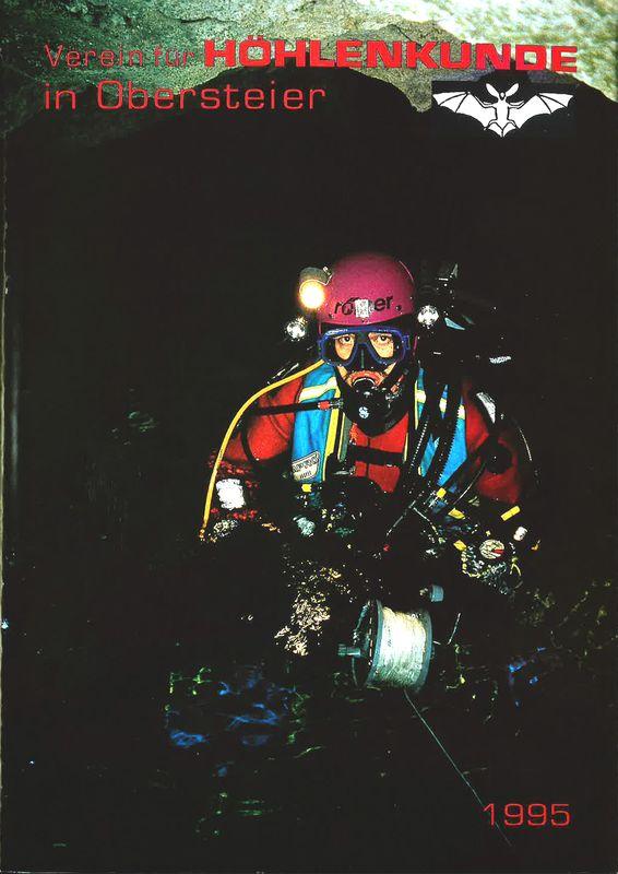Bucheinband von 'Mitteilungen des Vereines für Höhlenkunde in Obersteier 1995'
