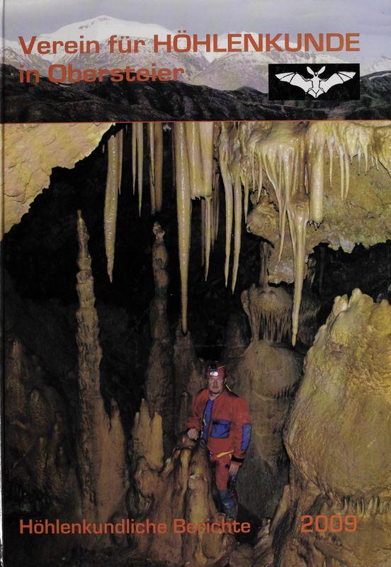 Cover of the book 'Höhlenkundliche Berichte 2009'