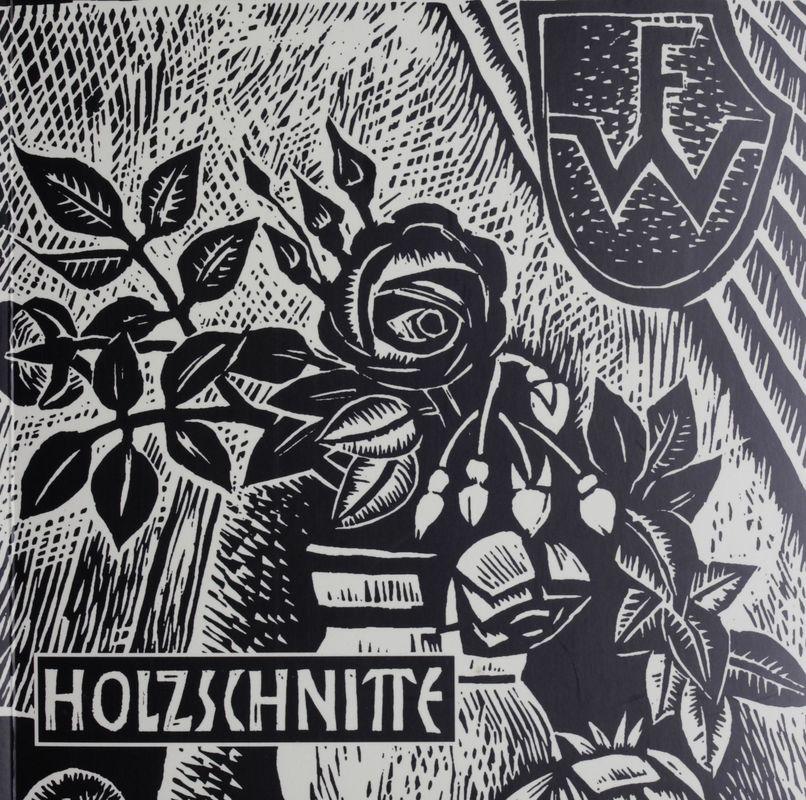 Bucheinband von 'Holzschnitte des steirischen Künstlers Franz Weiss - Mit einem Werkkatalog 1951 - 1999'