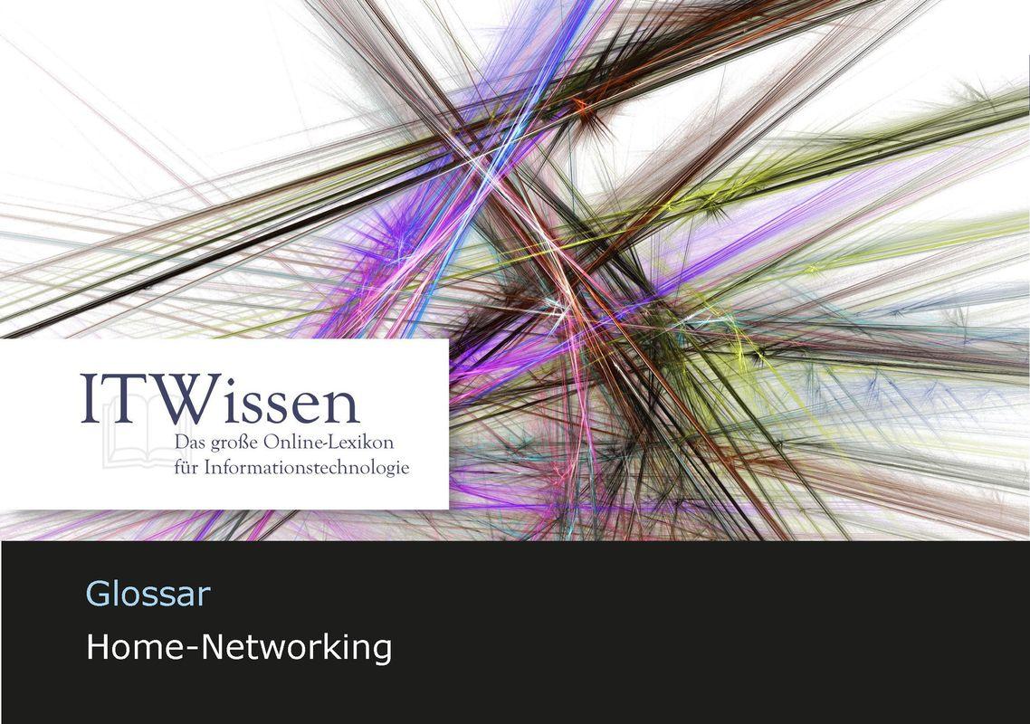 Bucheinband von 'IT Wissen - Home-Networking'