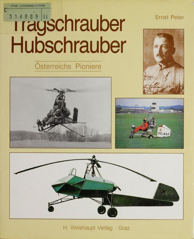 Bucheinband von 'Tragschrauber Hubschrauber - Österreichs Pioniere'