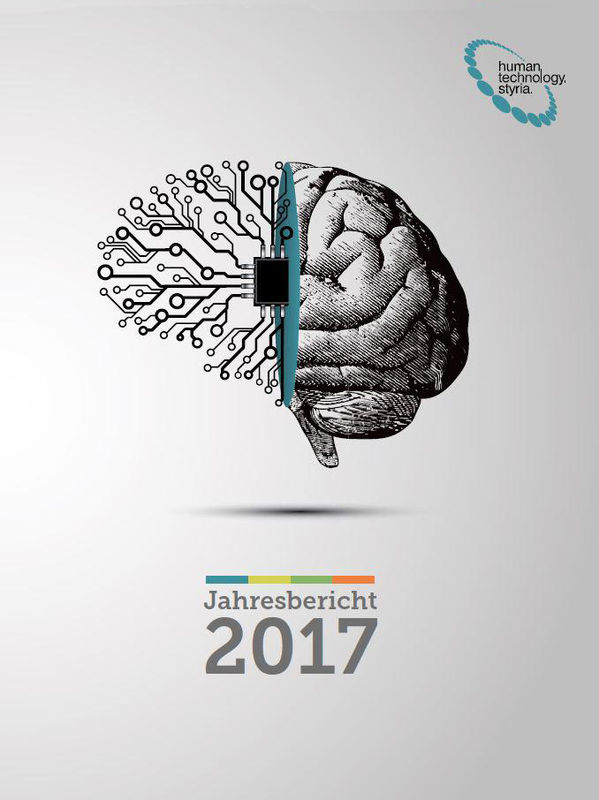 Cover of the book 'Jahresbericht 2017'