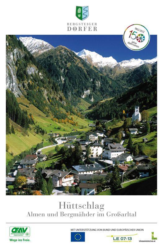 Bucheinband von 'Hüttschlag - Almen und Bergmähder im Großarltal'