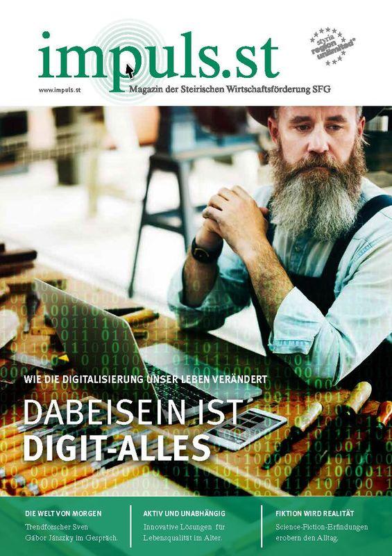 Bucheinband von 'impuls.st - Magazin der Steirischen Wirtschaftsförderung SFG, Band 01/16'