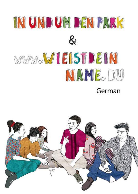 Bucheinband von 'Im und um den Park & www.wieheißt.du'
