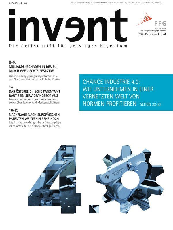 Bucheinband von 'invent - Die Zeitschrift für geistiges Eigentum, Band 2|2017'