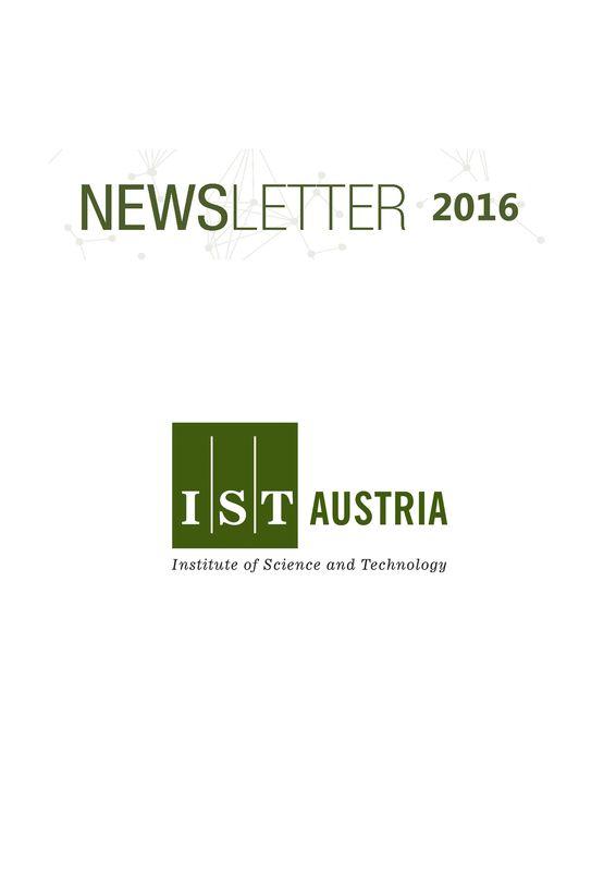 Bucheinband von Newsletter 2016