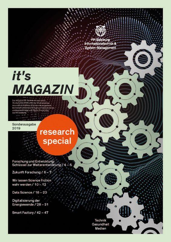 Bucheinband von 'it's Magazin - research special, Band Sonderausgabe'