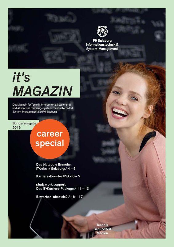 Bucheinband von 'it's Magazin - career special, Band Sonderausgabe'