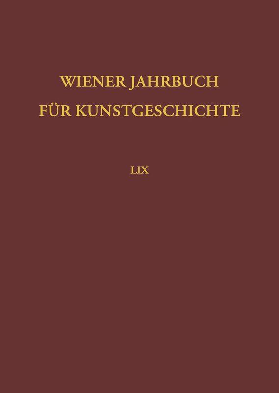 Bucheinband von 'Wiener Jahrbuch für Kunstgeschichte, Band LIX'